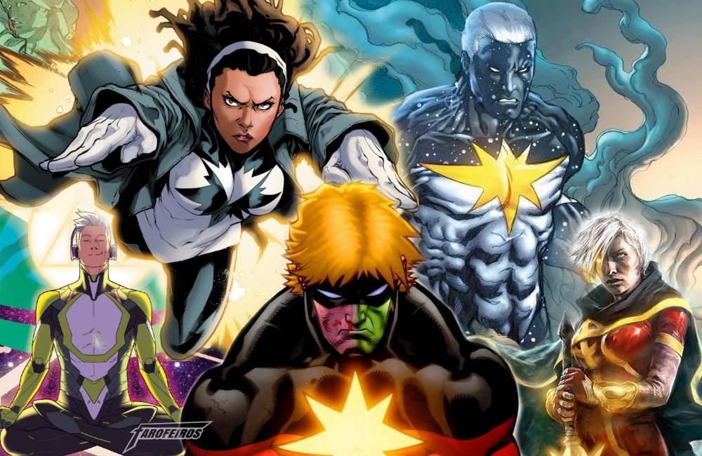 Quem é a Capitã Marvel - Família Mar Vell - Blog Farofeiros