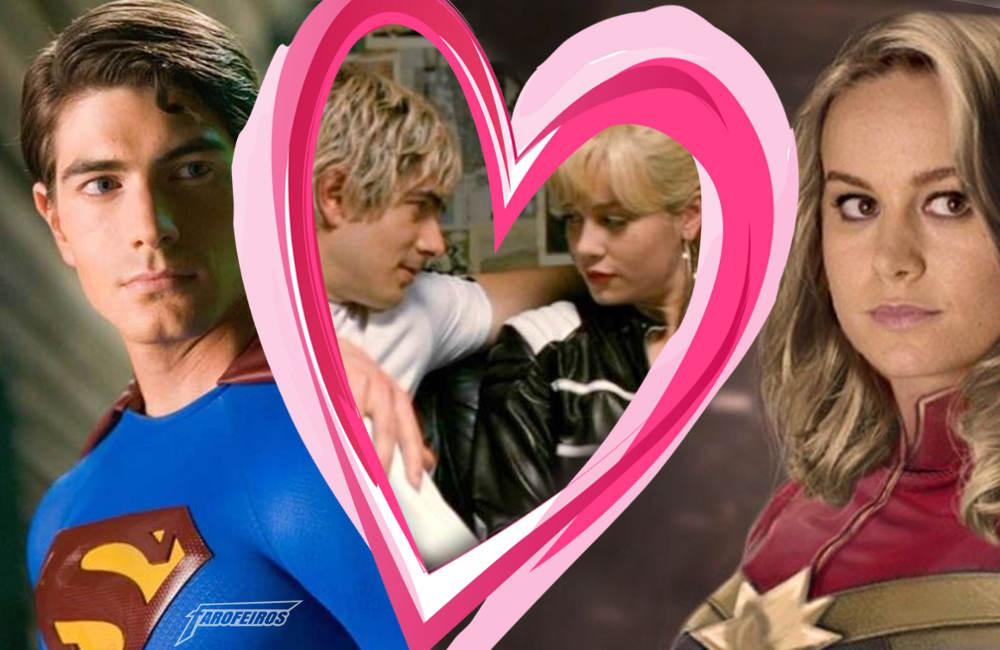 Se lembra daquela vez que o Superman e a Capitã Marvel namoraram - Brie Larson - Brandon Routh