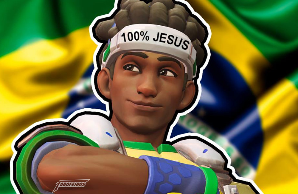 Lúcio - Overwatch - 100 Jesus - VAI BRASILIAM