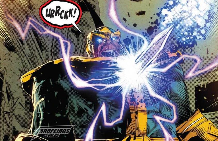 Morte em Infinity Wars Prime #1 - Thanos