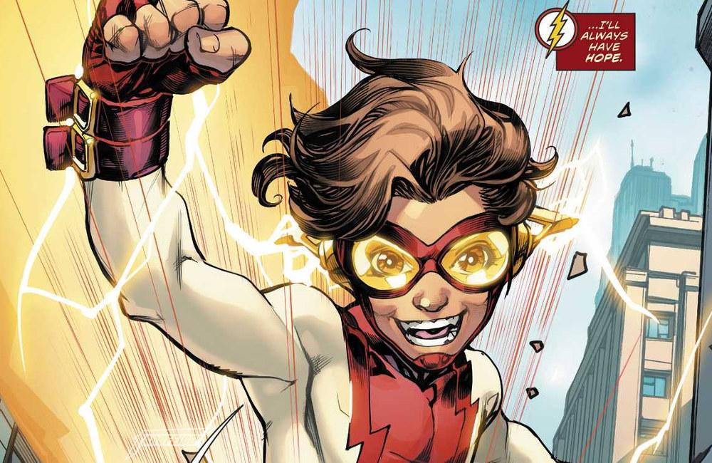 Não gostei do Superman do Bendis - Bart Allen - Impulse - Impulso - Flash