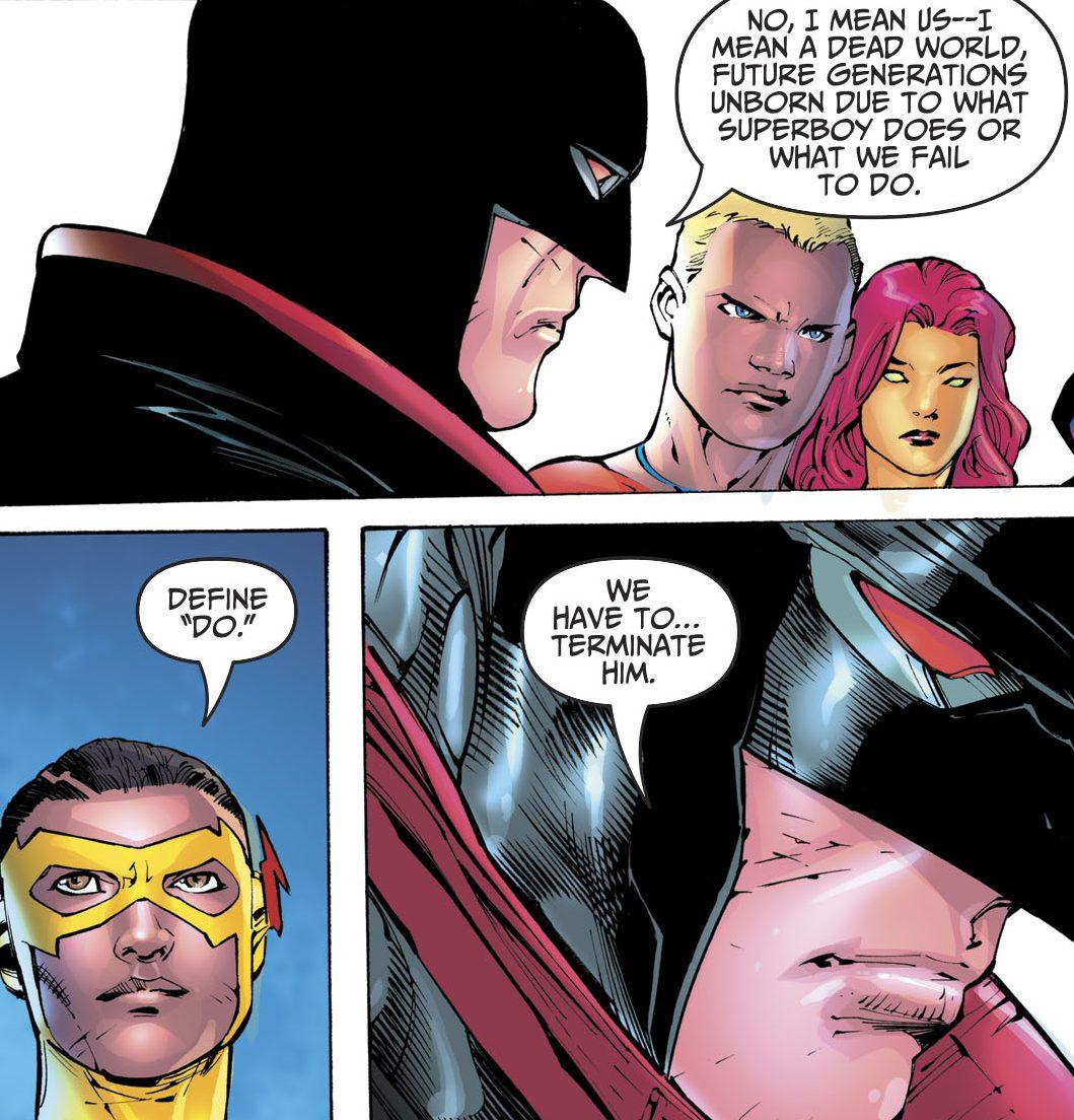Não gostei do Superman do Bendis - Tim Drake do futuro - Teen Titans - Jovens Titãs