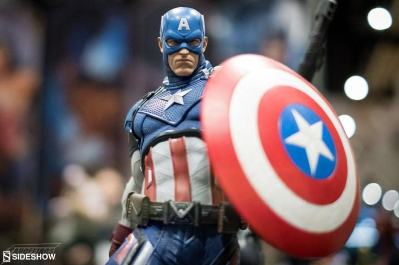 O melhor de colecionáveis na SDCC 2018 - Sideshow - Capitão América - Captain America