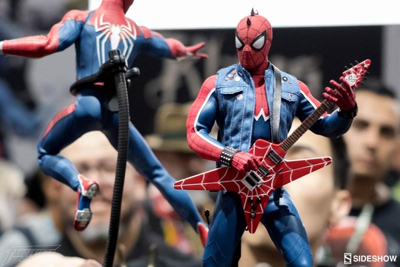 O melhor de colecionáveis na SDCC 2018 - Sideshow - Hot Toys - Homem Aranha - PS4 - Spider-Punk