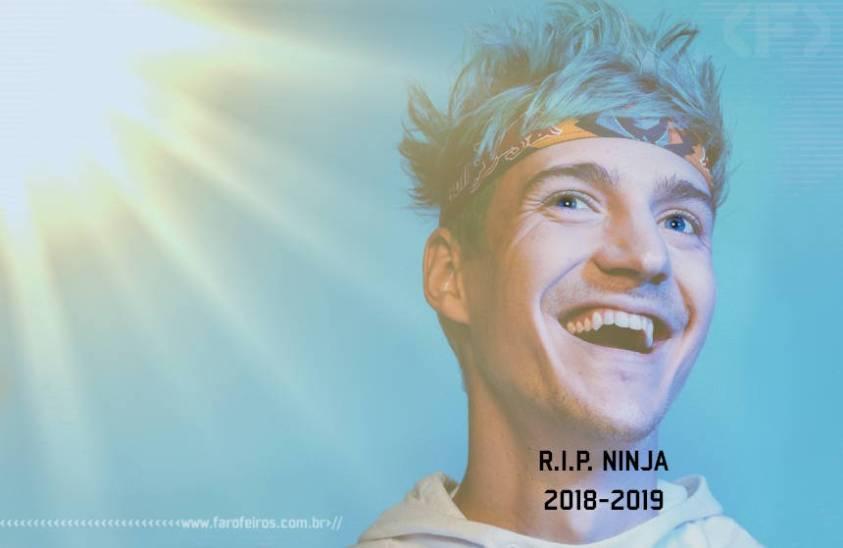 O que é Ligma - Ninja RIP - Blog Farofeiros