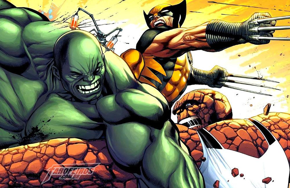 Quais personagens da Fox voltaram para a Marvel - Quarteto Fantástico - X-Men - Hulk - Wolverine - Coisa