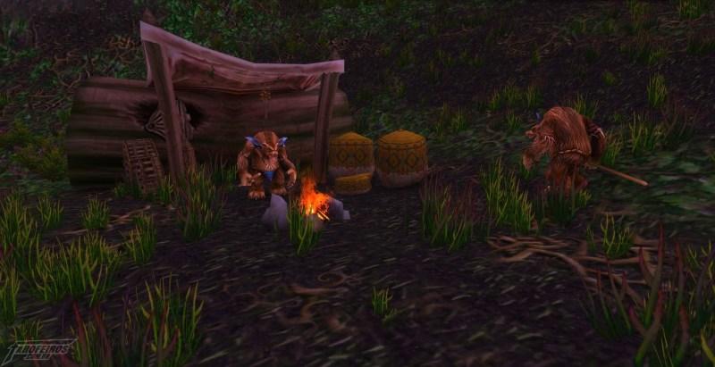 Teldrassil antes de pegar fogo - World of Warcraft