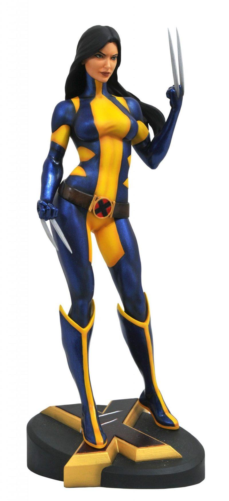 Wolverine desmascarada - Marvel Gallery - Diammond - Os melhores colecionáveis exclusivos da SDCC 2018