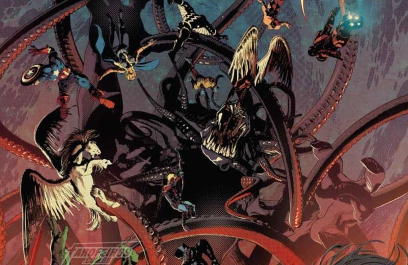 Gamora faz o impensável em Infinity Wars #2 - Mike Deodato Jr - Marvel Comics - Devondra - FAROFEIROS COM BR
