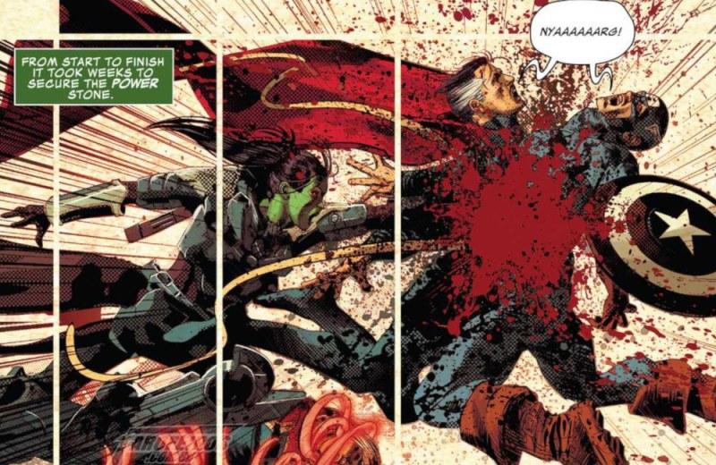 Gamora faz o impensável em Infinity Wars #2 - Mike Deodato Jr - Marvel Comics - Doutor Estranho - Capitão América - FAROFEIROS COM BR