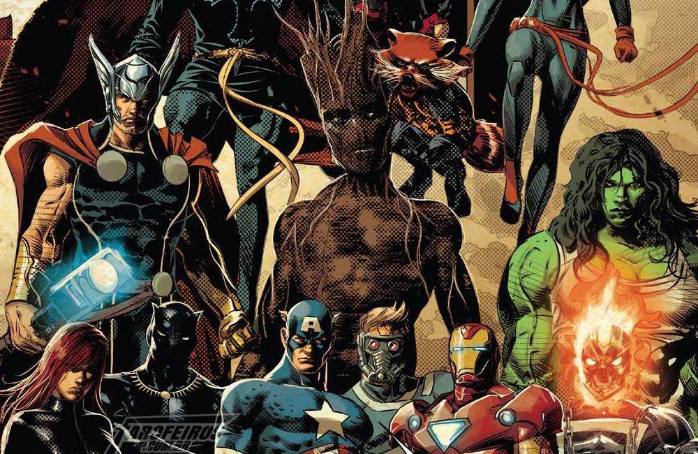 Gamora faz o impensável em Infinity Wars #2 - Mike Deodato Jr - Marvel Comics - Vingadores - FAROFEIROS COM BR