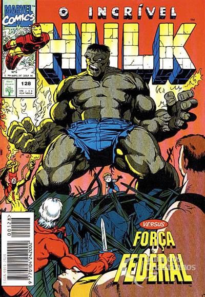 Hulk Filé com Fritas - Capa O Incrível Hulk #128 - Editora Abril - FAROFEIROS COM BR