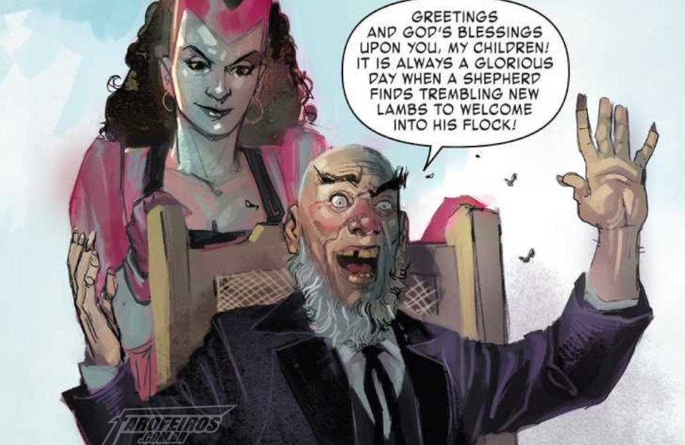 Pastor Xavier - Exiles - Marvel Comics - Blog Farofeiros