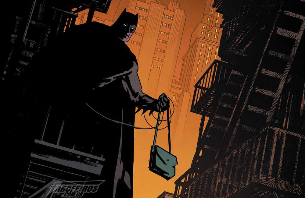 Batman assaltando mulheres em um beco - Superman - Action Comics #1003 - Blog Farofeiros