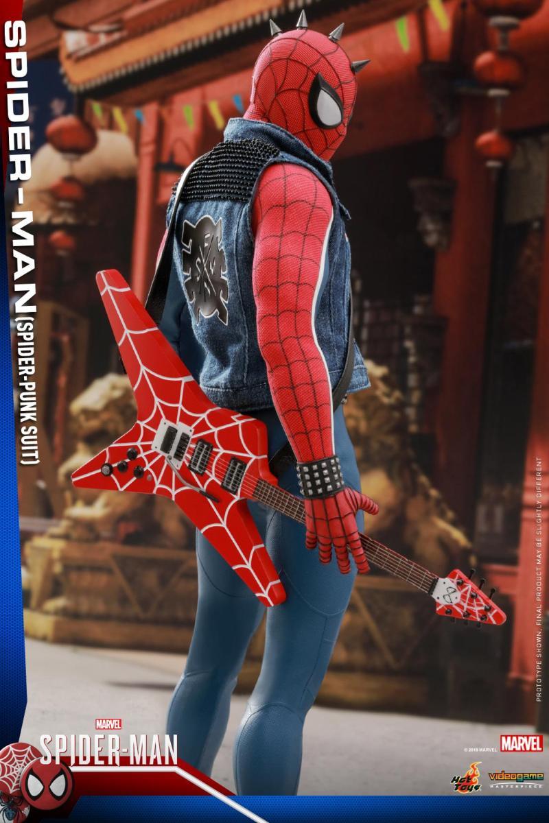 Homem Aranha Punk da Hot Toys - Vivo Quebrado - Blog Farofeiros