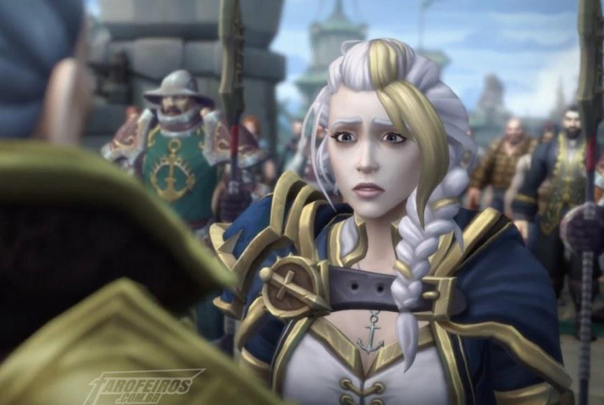 O problema não é a política - World of Warcraft - Jaina