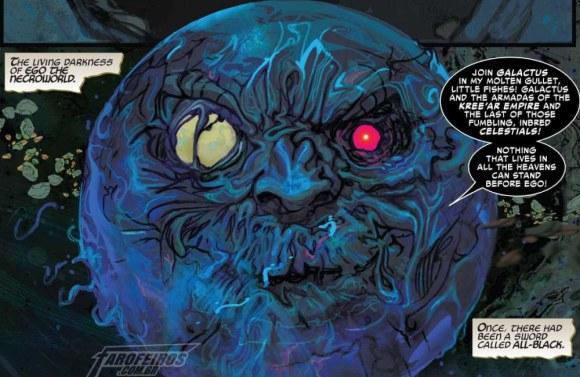 Surge um dos seres mais poderosos do Universo Marvel - Thor #5 - Ego - Blog Farofeiros