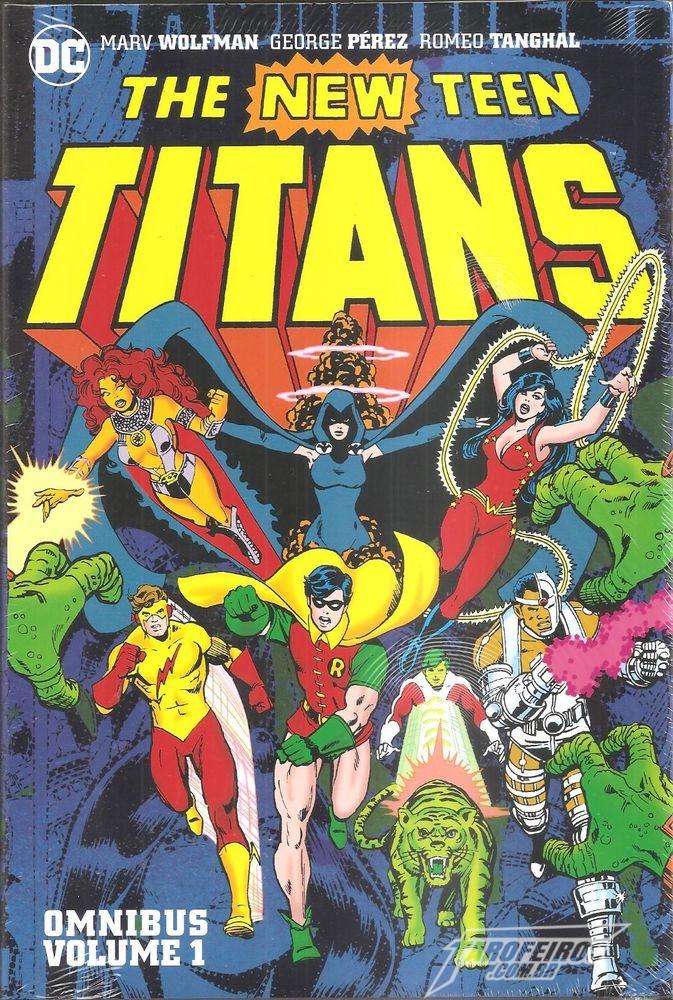 Jovens Titãs da DC Collectibles - Capa New Teen Titans Omnibus Vol 1 - Blog Farofeiros