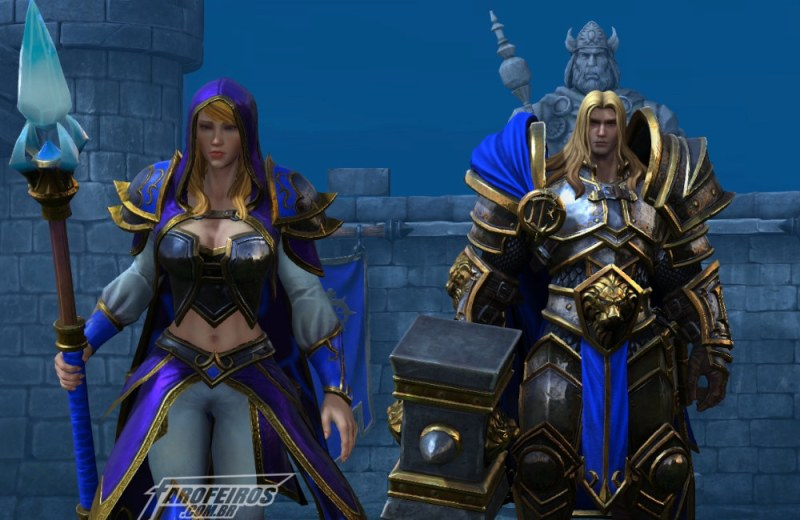 Blizzcon 2018 - Blog Farofeiros - Arthas - Jaina - Warcraft III Reforged