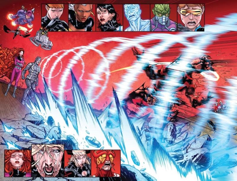 Ciclope morreu - X-Men - Inumanos - Marvel Comics - Blog Farofeiros