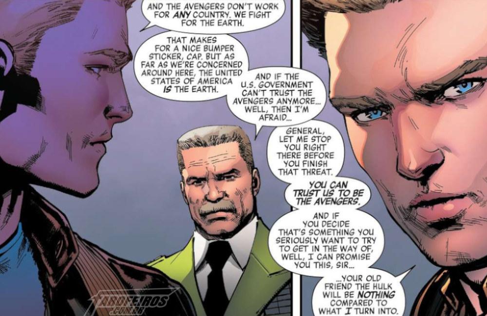 Esquadrão Supremo da América - Vingadores - Avengers #10 - Blog Farofeiros