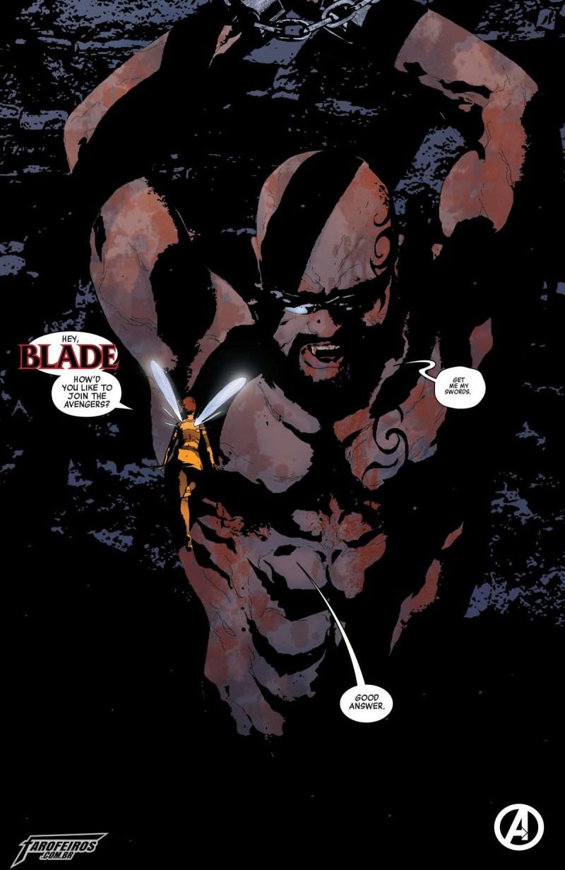 O que está por vir na Marvel em 2019 - Avengers #10 - Vingadores - Blade - Vespa - Blog Farofeiros