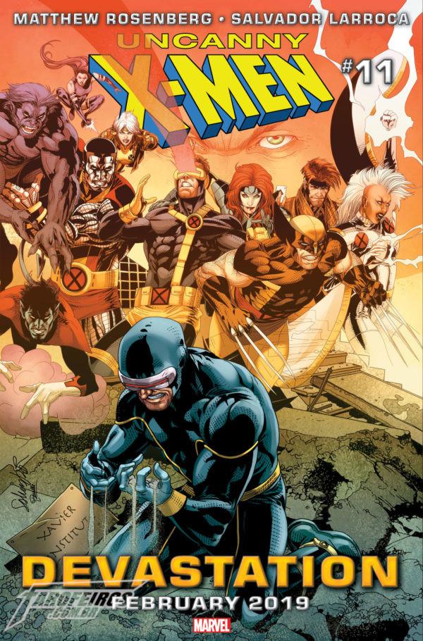 O que está por vir na Marvel em 2019 - Uncanny X-Men #11 - Ciclope - Blog Farofeiros