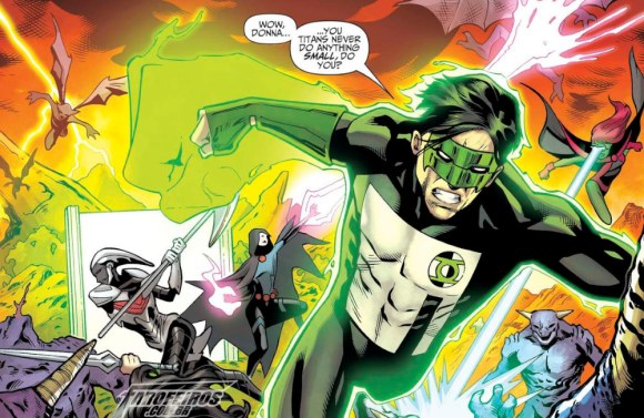 Outra Semana nos Quadrinhos #2 - Titans #31 - Kyle Rayner - Lanterna Verde - Blog Farofeiros