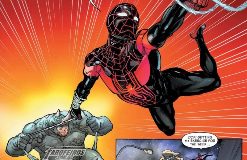 Miles Morales - Homem Aranha - Miles Morales Spider Man #2 - Blog Farofeiros