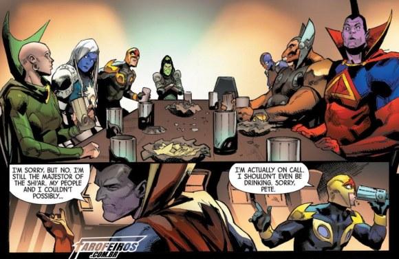 Quem são os novos Guardiões da Galáxia - Bebendo - Blog Farofeiros