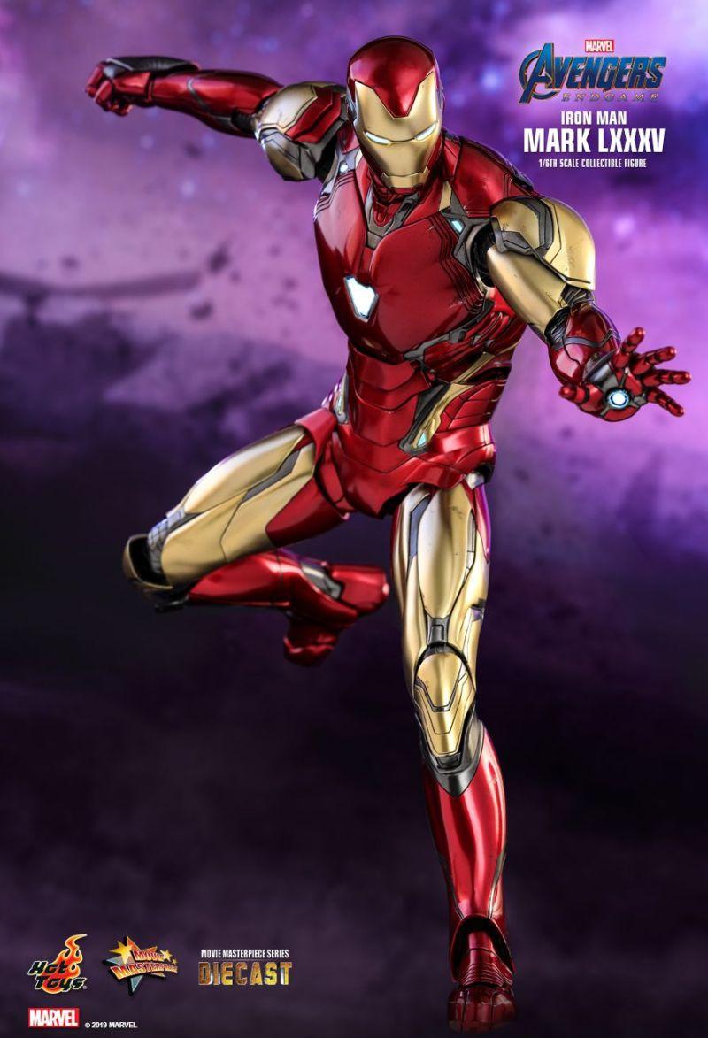 Homem de Ferro da Hot Toys de Ultimato - Vingadores - Blog Farofeiros