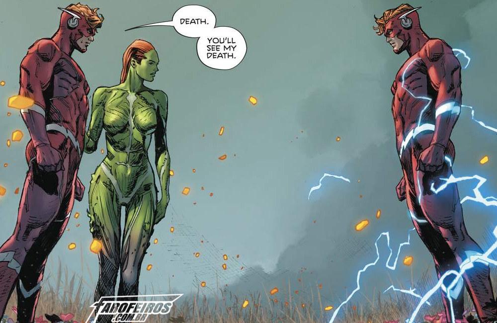 Outra Semana nos Quadrinhos #10 - Heroes in Crisis #7 - Wally West - Flash - Blog Farofeiros