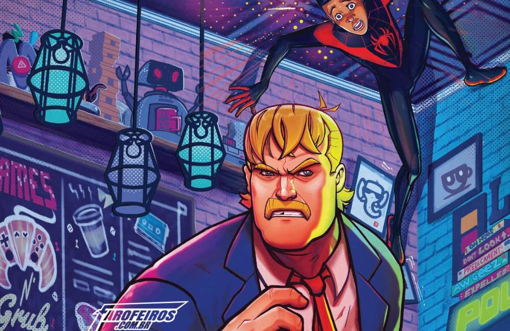 Outra Semana nos Quadrinhos #9 - Miles Morales - Spider Man - Ed Rooney - Homem Aranha - Blog Farofeiros