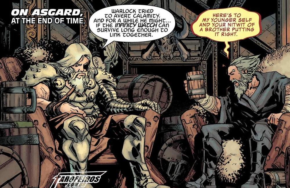 Outra Semana nos Quadrinhos #9 - Wolverine - Infinity Watch #2 - Thor - Blog Farofeiros