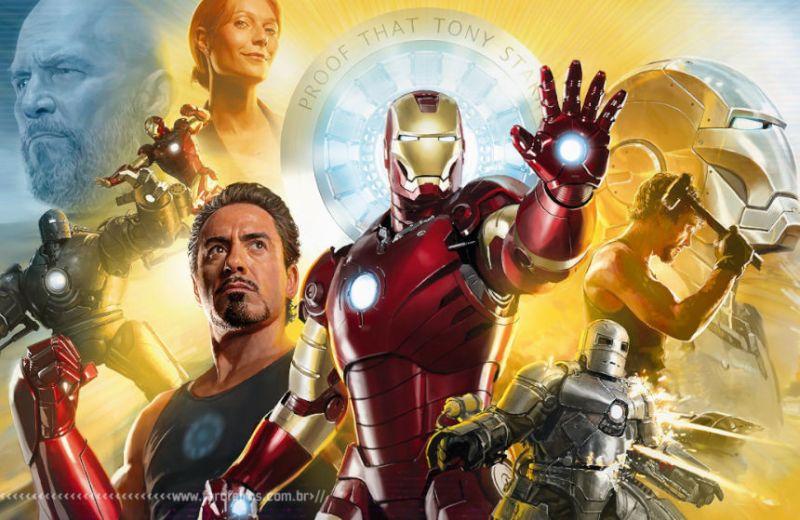 Todas as armaduras do Homem de Ferro do cinema - Blog Farofeiro