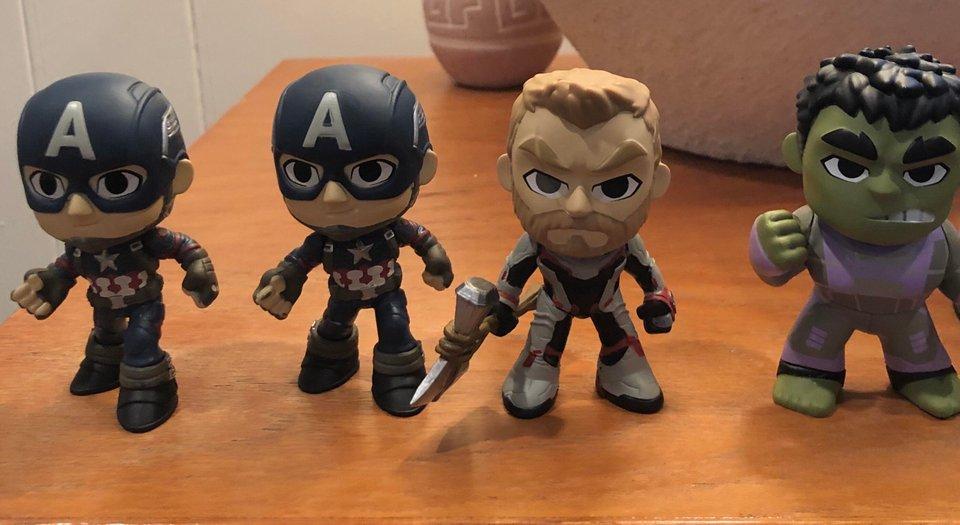 Novos trajes para os Vingadores em Ultimato - Hot Toys Japão - Quantum Suits - Mistery Minis - Thor - Blog Farofeiros