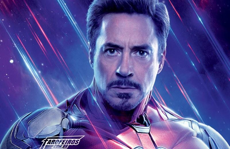 O final de Vingadores - Ultimato - Tony Stark - Homem de Ferro