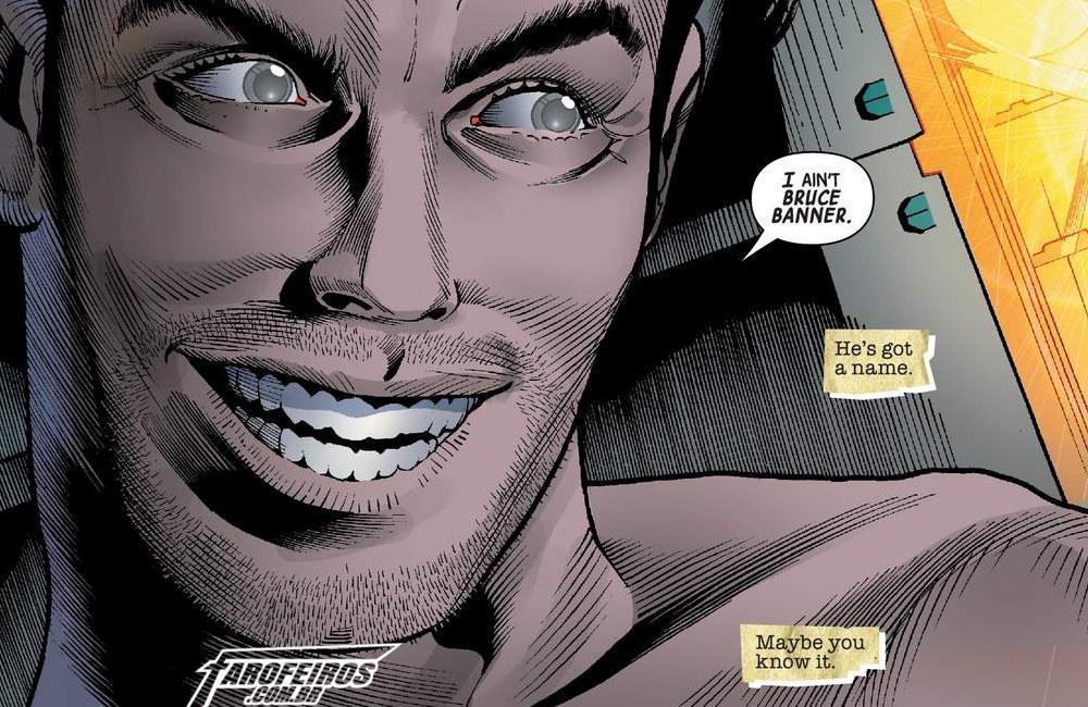 Outra Semana nos Quadrinhos #11 - Immortal Hulk #16 - Bruce Banner - Blog Farofeiros