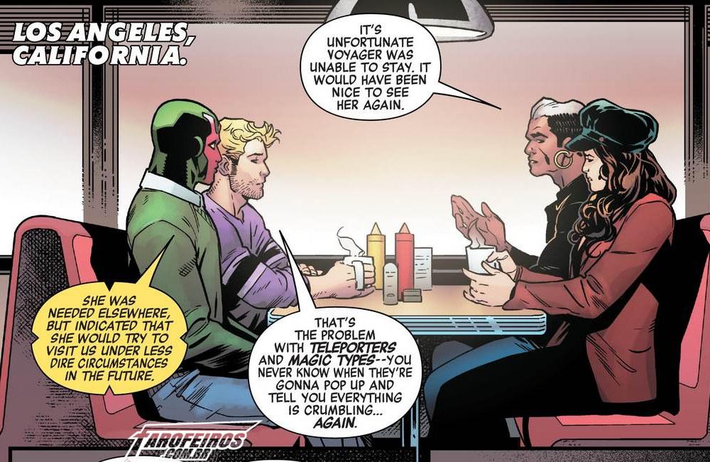 Outra Semana nos Quadrinhos #13 - Avengers - No Road Home #10 - Vingadores - Blog Farofeiros