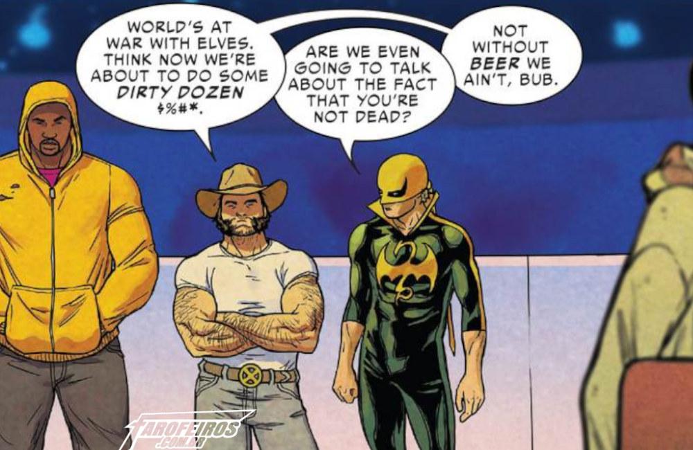 Outra Semana nos Quadrinhos #13 - War of the Realms #2 - Wolverine - Punho de Ferro - Blog Farofeiros