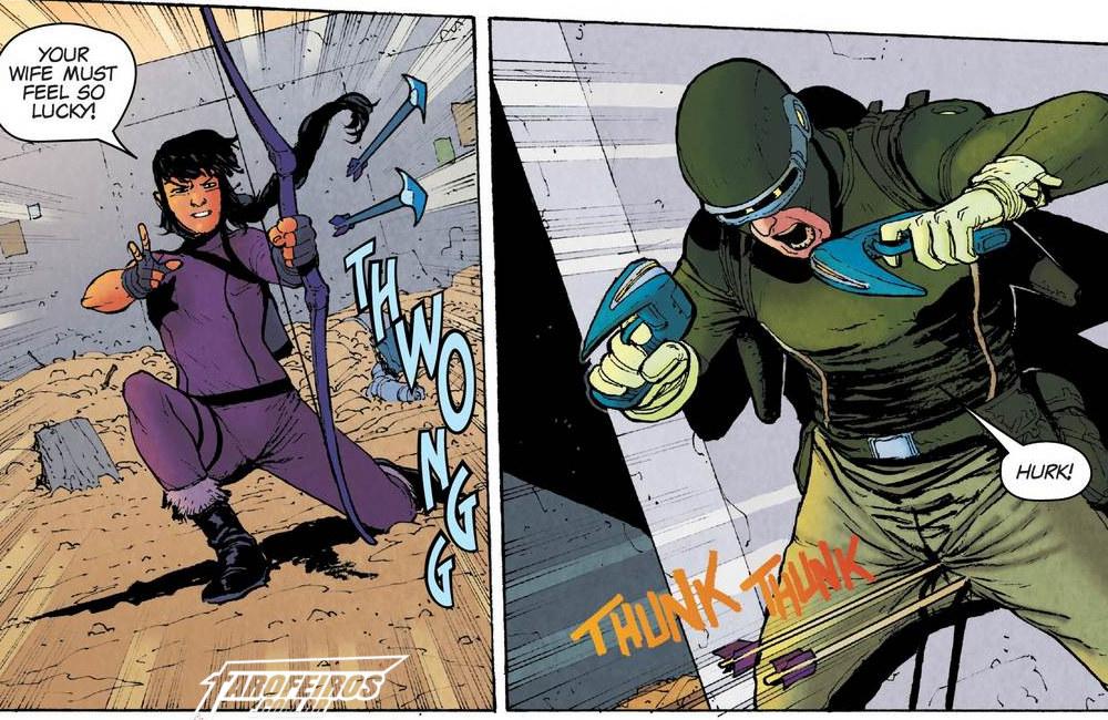 Outra Semana nos Quadrinhos #13 - War of the Realms - Journey Into Mystery #1 - Kate Bishop - Gaviã Arqueira - Blog Farofeiros