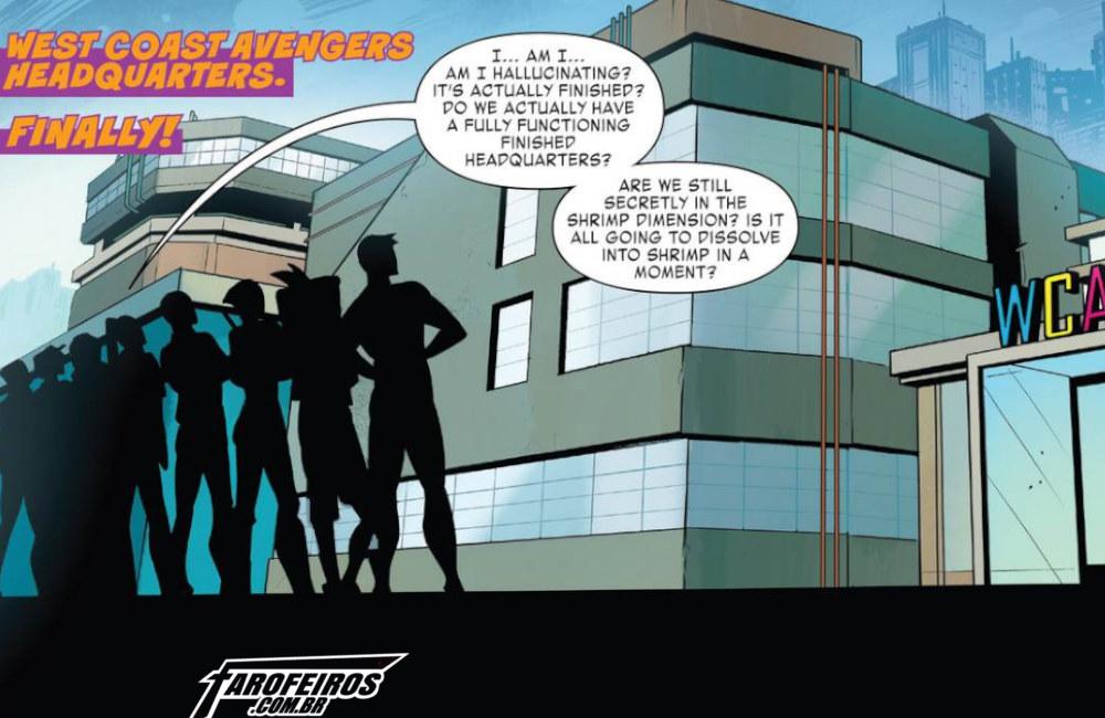 Outra Semana nos Quadrinhos #13 - West Coast Avengers #10 - Vingadores da Costa Oeste - Blog Farofeiros