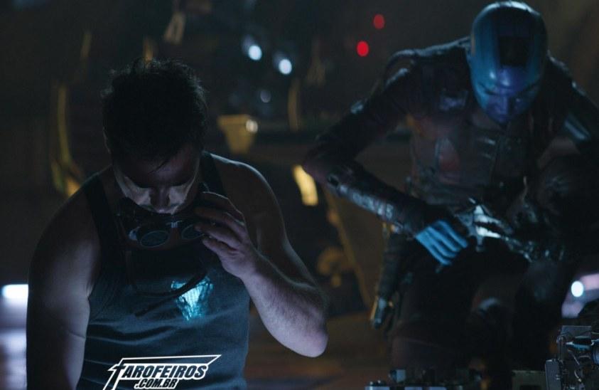 Vingadores - Ultimato - Tony Stark - Homem de Ferro - Nebulosa - Blog Farofeiros