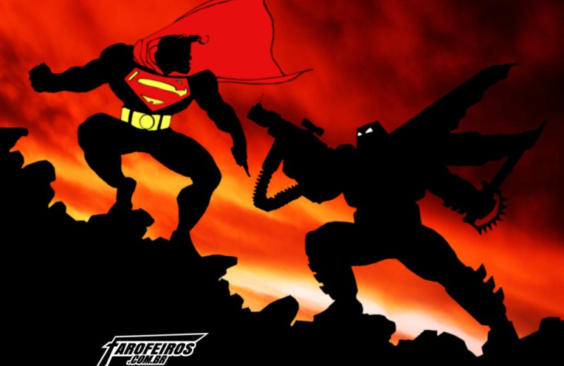 Batman é fascista - Batman vs Superman - Frank Miller - Blog Farofeiros