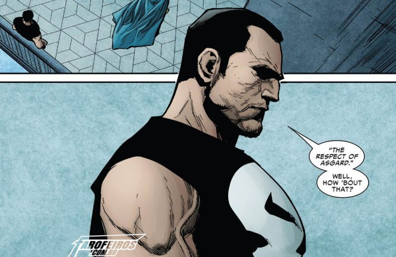 Outra Semana nos Quadrinhos #15 - War of the Realms Strikeforce - The Dark Elf Realm #1 - Justiceiro - Blog Farofeiros