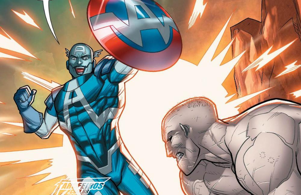 Outra Semana nos Quadrinhos #16 - Apocalypse and The X-Tracts #3 - Apocalipse - Capitão América - Era de X-Man - Blog Farofeiros