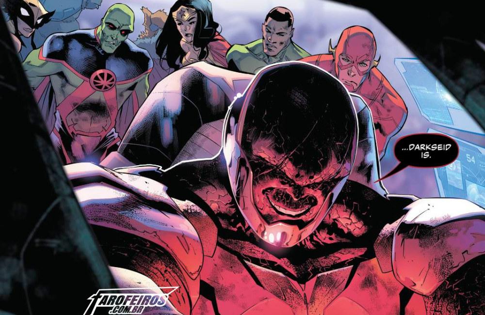 Outra Semana nos Quadrinhos #16 - Justice League #23 - Liga da Justiça - Darkside - Blog Farofeiros