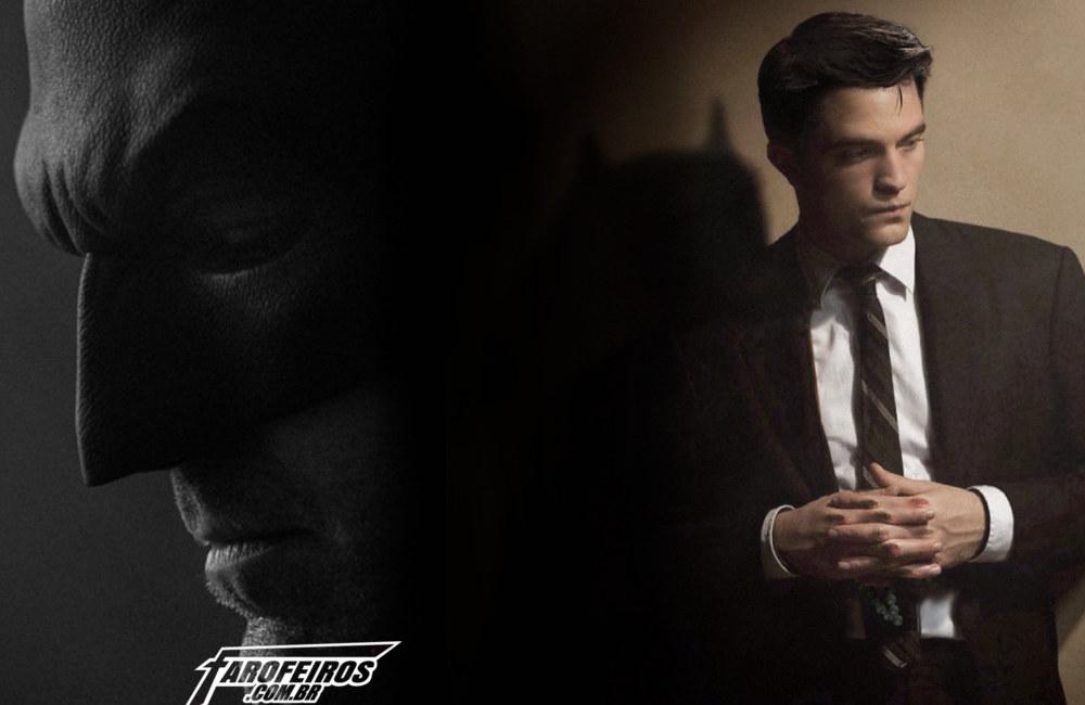 Robert Pattinson - Batman - Battinson - Blog Farofeiros