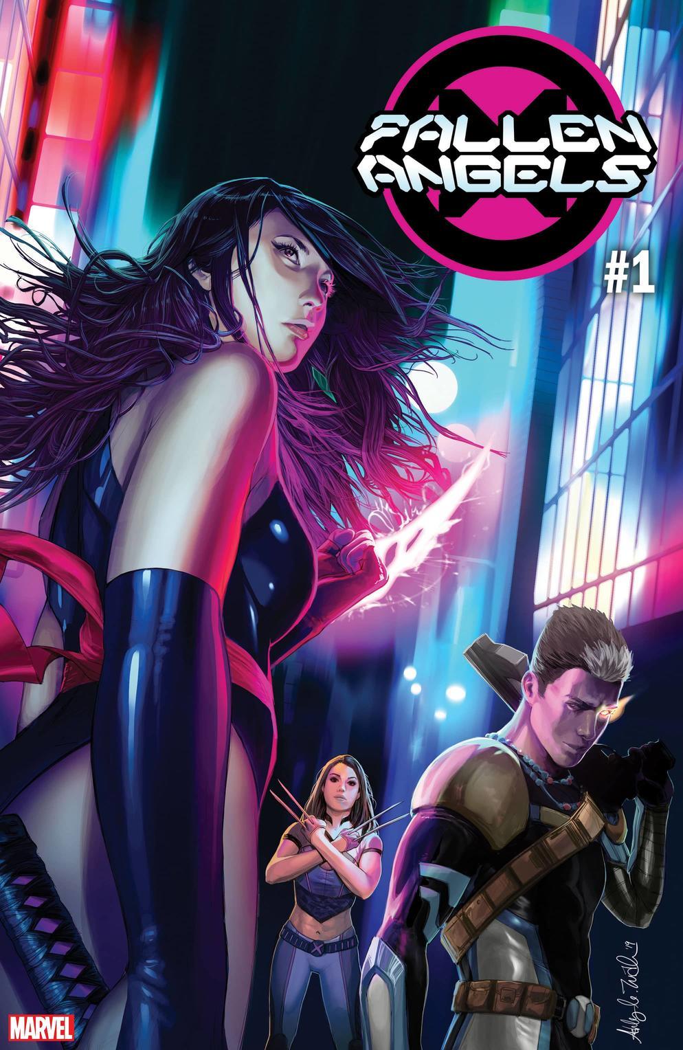 Marvel Comics na SDCC 2019 - X-Men - Fallen Angels #1 - Anjos Caídos - Blog Farofeiros