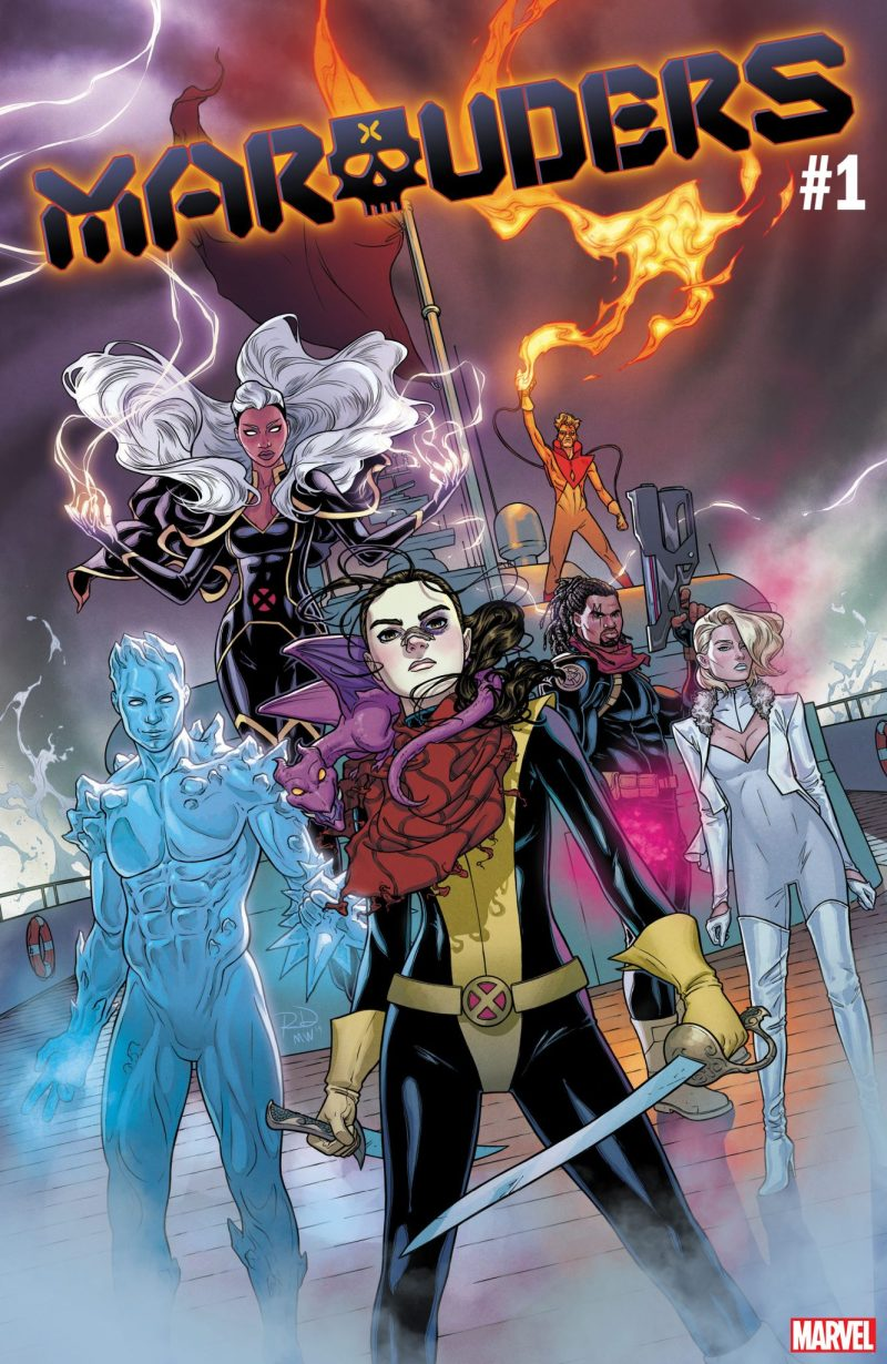 Marvel Comics na SDCC 2019 - X-Men - Marauders #1 - Saqueadores - Blog Farofeiros